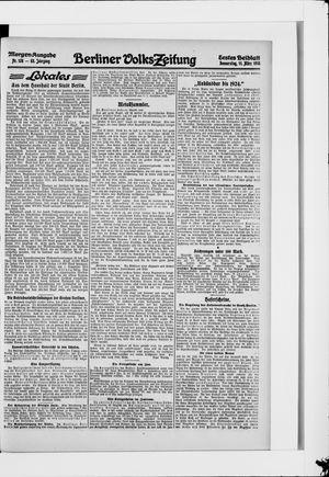 Berliner Volkszeitung on Mar 11, 1915