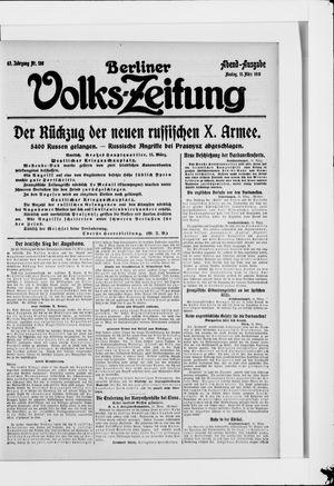 Berliner Volkszeitung vom 15.03.1915