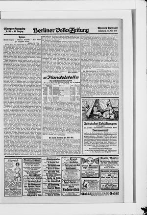 Berliner Volkszeitung vom 18.03.1915