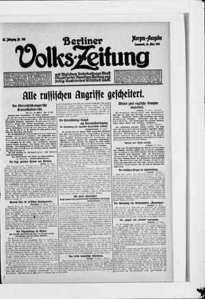 Berliner Volkszeitung vom 20.03.1915