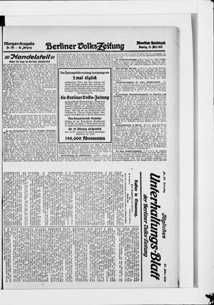 Berliner Volkszeitung vom 23.03.1915