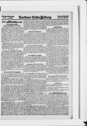 Berliner Volkszeitung vom 24.03.1915