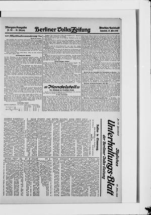 Berliner Volkszeitung vom 27.03.1915