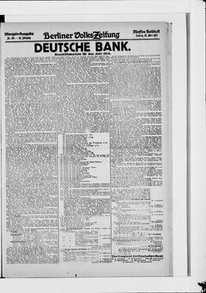 Berliner Volkszeitung vom 28.03.1915