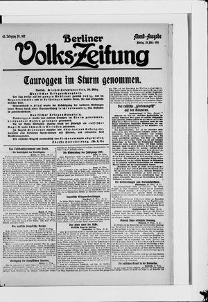 Berliner Volkszeitung vom 29.03.1915