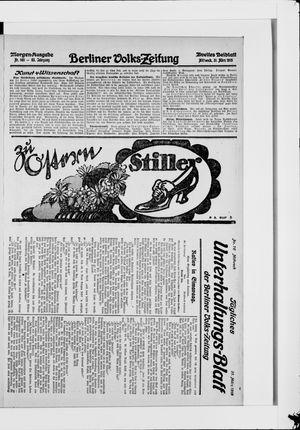Berliner Volkszeitung vom 31.03.1915