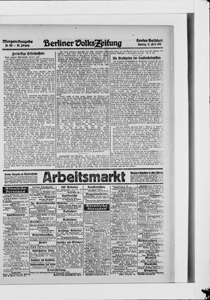Berliner Volkszeitung on Apr 13, 1915