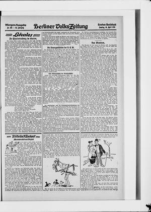 Berliner Volkszeitung on Apr 18, 1915