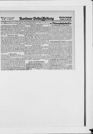 Berliner Volkszeitung vom 24.04.1915