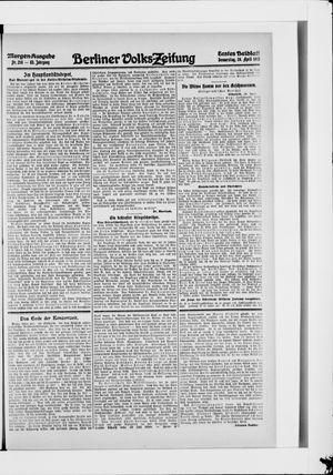Berliner Volkszeitung vom 29.04.1915