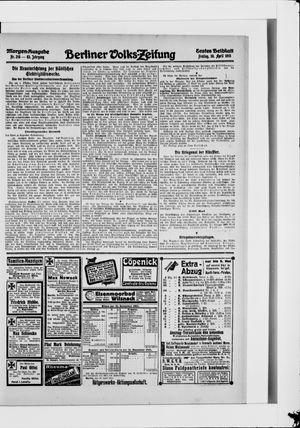 Berliner Volkszeitung vom 30.04.1915