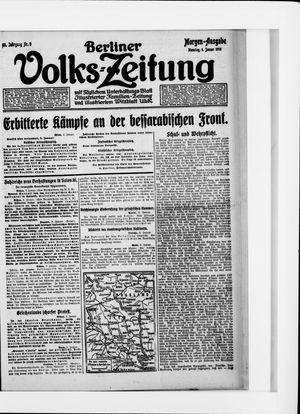 Berliner Volkszeitung vom 04.01.1916