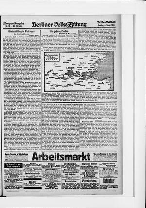 Berliner Volkszeitung on Jan 9, 1916