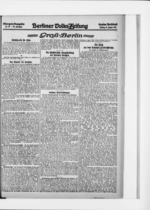 Berliner Volkszeitung vom 14.01.1916