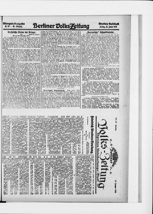 Berliner Volkszeitung vom 28.01.1916