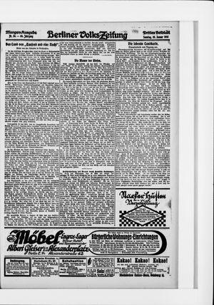 Berliner Volkszeitung vom 30.01.1916