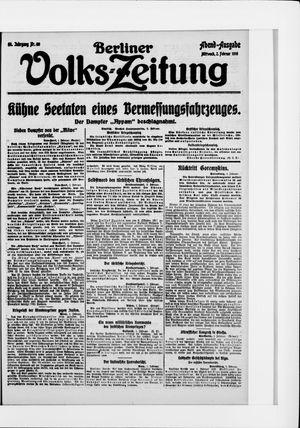 Berliner Volkszeitung vom 02.02.1916