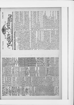 Berliner Volkszeitung vom 03.02.1916