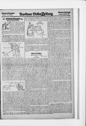 Berliner Volkszeitung vom 20.02.1916