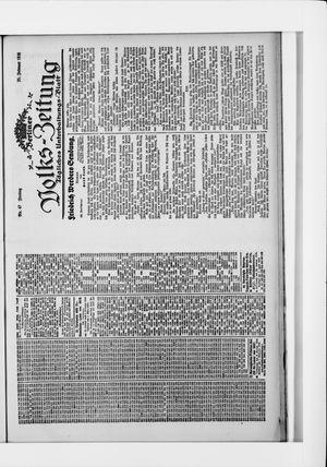 Berliner Volkszeitung vom 25.02.1916