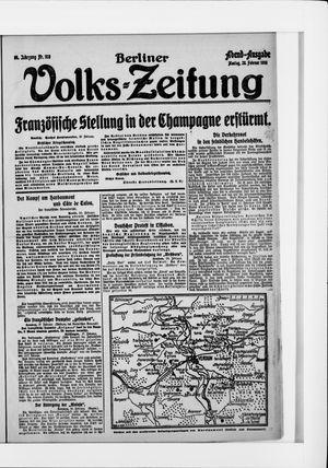 Berliner Volkszeitung vom 28.02.1916