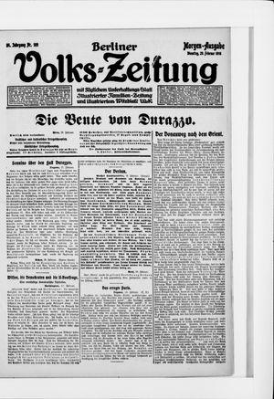 Berliner Volkszeitung vom 29.02.1916