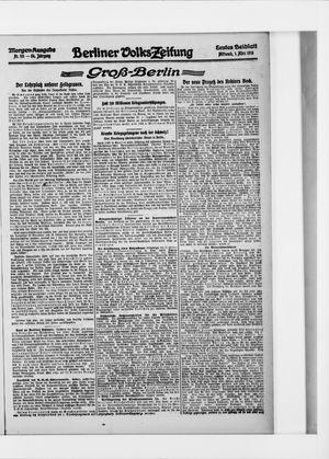 Berliner Volkszeitung vom 01.03.1916