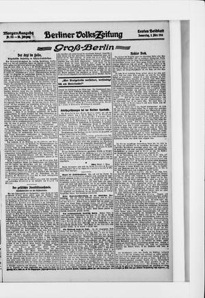 Berliner Volkszeitung vom 02.03.1916