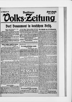 Berliner Volkszeitung vom 03.03.1916