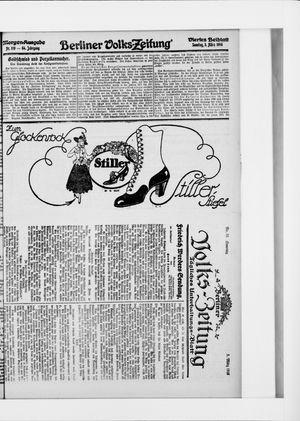 Berliner Volkszeitung vom 05.03.1916