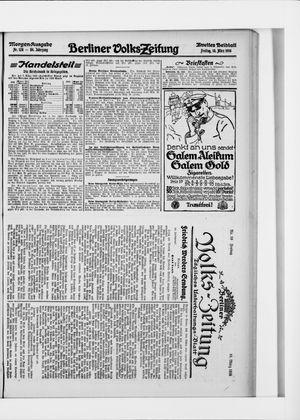 Berliner Volkszeitung vom 10.03.1916