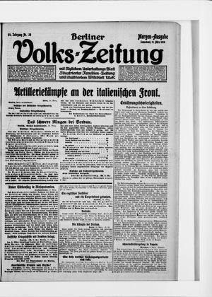 Berliner Volkszeitung vom 11.03.1916