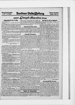 Berliner Volkszeitung vom 12.03.1916