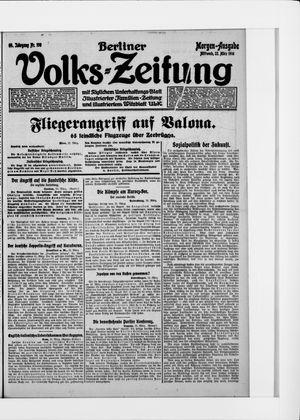Berliner Volkszeitung vom 21.03.1916