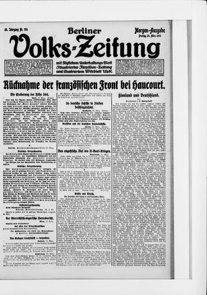 Berliner Volkszeitung vom 24.03.1916