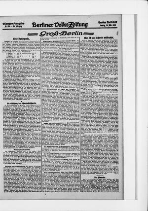 Berliner Volkszeitung vom 26.03.1916