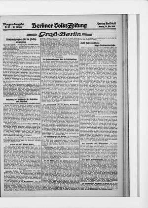 Berliner Volkszeitung vom 28.03.1916