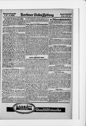 Berliner Volkszeitung vom 31.03.1916