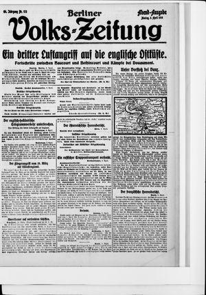 Berliner Volkszeitung vom 03.04.1916