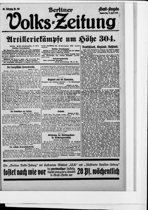 Berliner Volkszeitung vom 13.04.1916