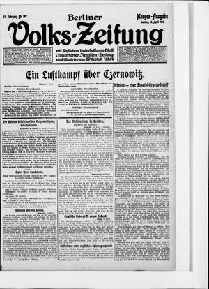 Berliner Volkszeitung vom 16.04.1916