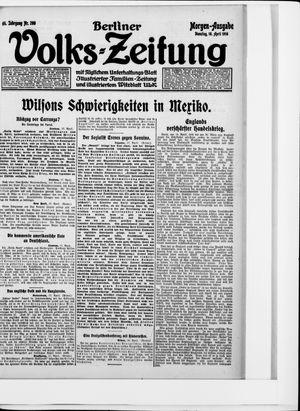 Berliner Volkszeitung on Apr 18, 1916