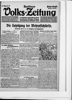 Berliner Volkszeitung vom 19.04.1916