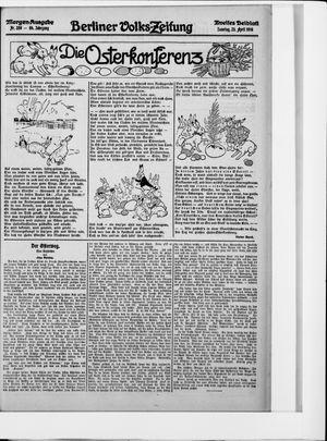 Berliner Volkszeitung vom 23.04.1916