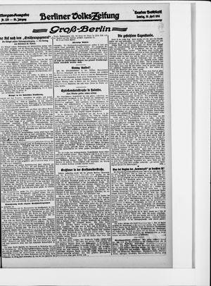Berliner Volkszeitung on Apr 30, 1916