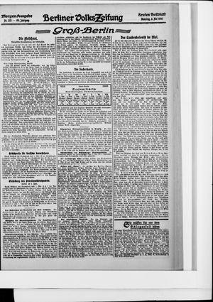 Berliner Volkszeitung vom 02.05.1916