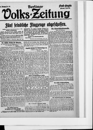 Berliner Volkszeitung vom 03.05.1916
