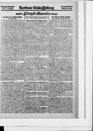 Berliner Volkszeitung vom 04.05.1916