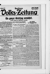 Berliner Volkszeitung (14.12.1917)
