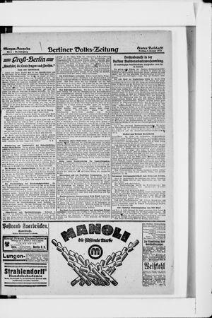 Berliner Volkszeitung vom 04.01.1918
